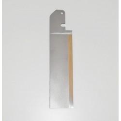 LAME GOUVERNAIL EN TITANE EP 3 mm L 120mm